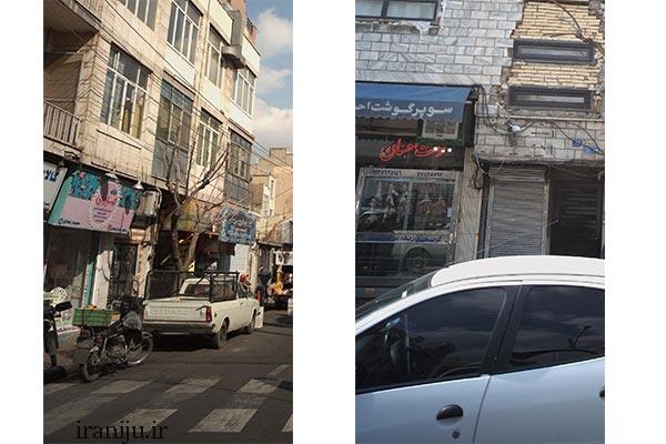 مراکز خرید محله دهقان تهران