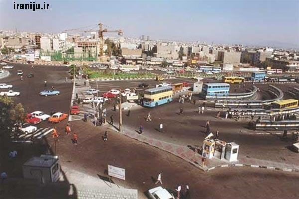 تاریخچه محله صادقیه تهران