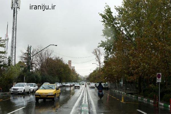 محدوده جغرافیایی خیابان سهروردی