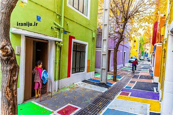 محدوده جغرافیایی محله شهید دستغیب تهران