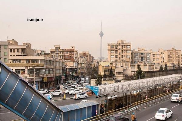 محله گیشا در تهران