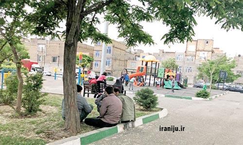 خاک سفید تهران
