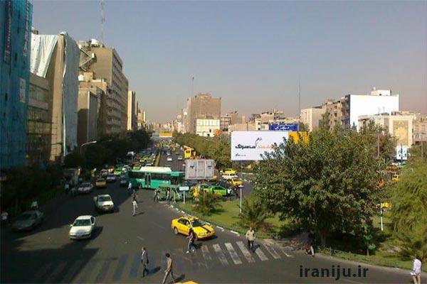 محله هفت تیر در تهران