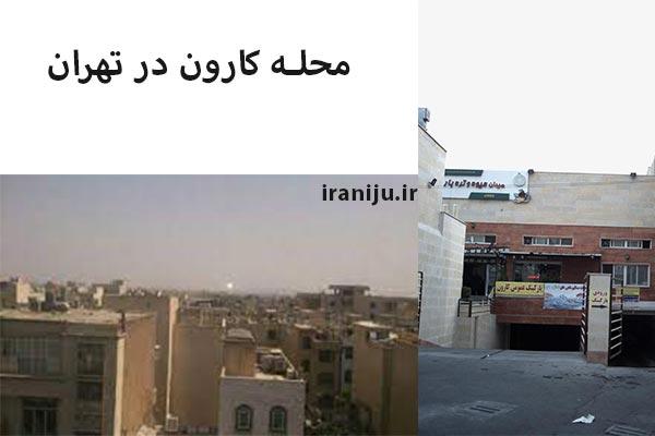 امکانات و دسترسی به محله کارون در تهران