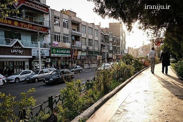 دلایل محبوبیت محله ستارخان تهران