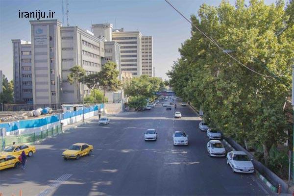 محله سیدخندان در تهران