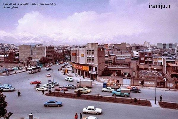 قدمت محله سیدخندان در تهران