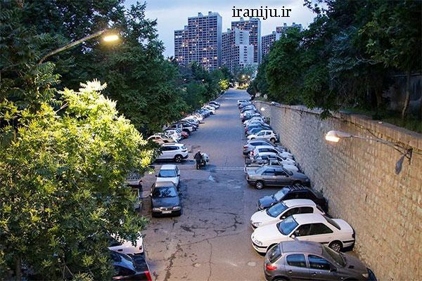 بلوار های معروف شهرک غرب تهران