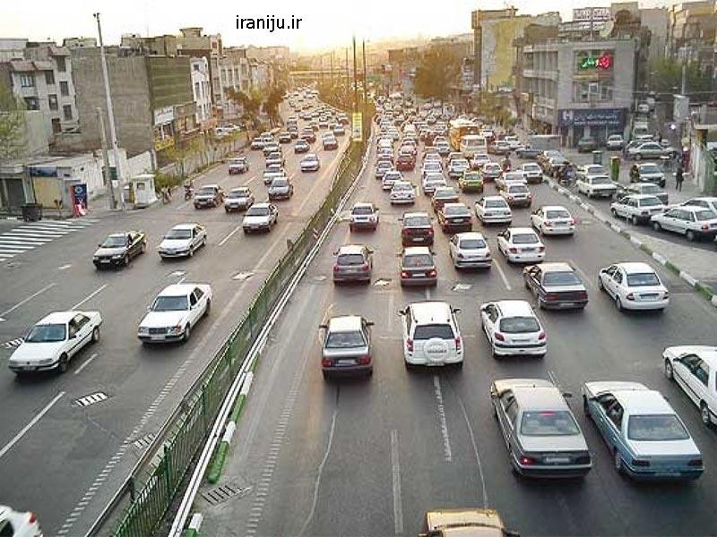 آب و هوای محله شمس آباد تهران