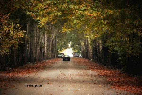 دسترسی به روستای سرخاب