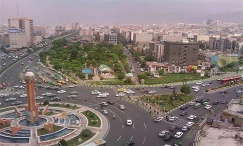 بافت محله طرشت تهران