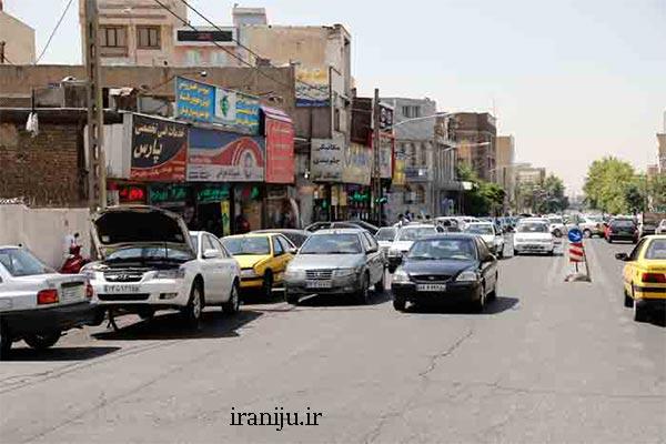 محدوده جغرافیایی محله زنجان تهران
