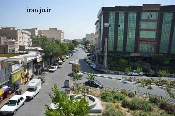 محدوده جغرافیایی محله زمزم تهران