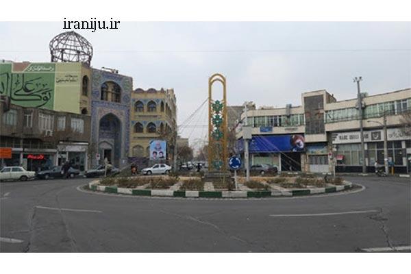 بافت انسانی محله زمزم تهران