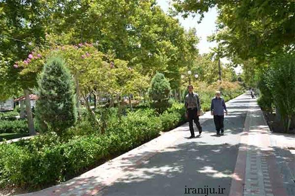 بوستان های محله زمزم تهران