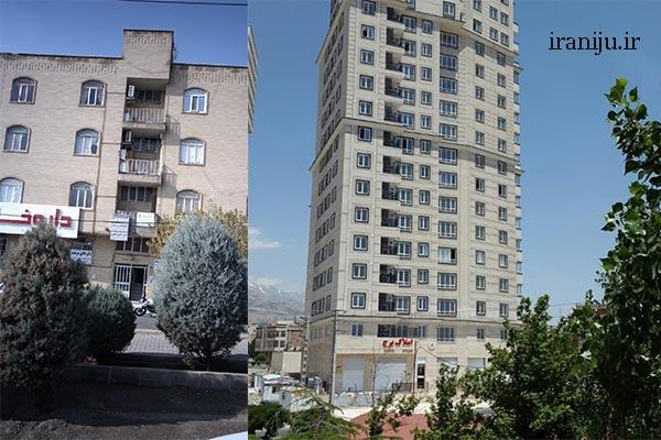 محله زیبادشت تهران