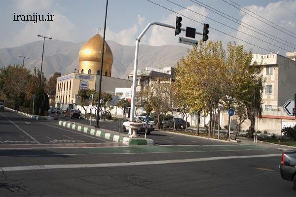 مساجد محله زیبادشت تهران